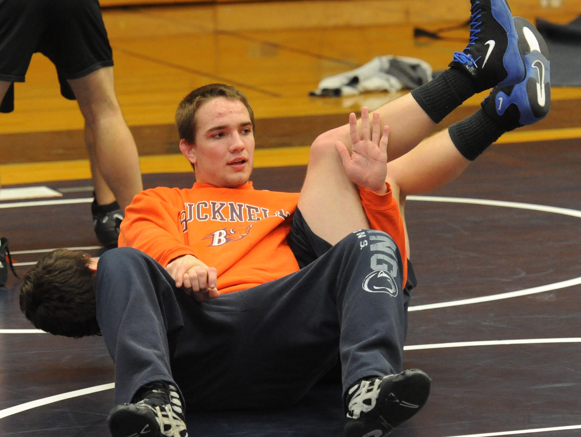 Enka alum Kacee Hutchinson was named the Citizen-Times All-WNC Wrestler of the Year in 2012 and 2013.