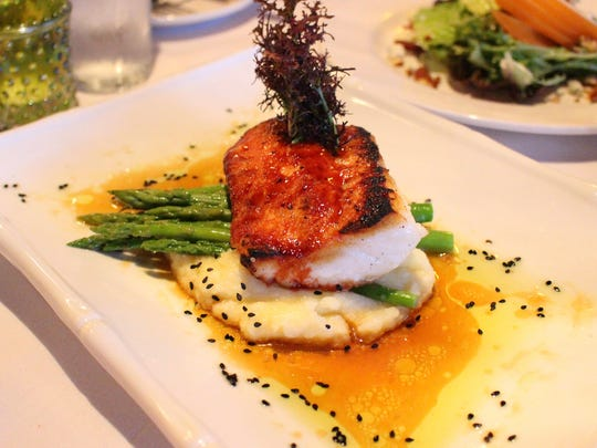 The fish is always a wise choice at A Table Apart in Bonita Springs.