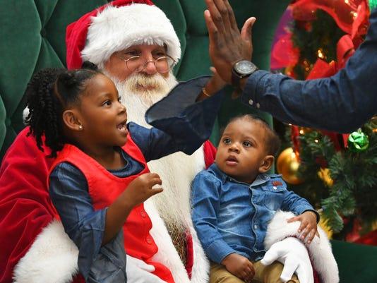 Santa Claus at Melbourne Square Mall