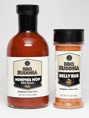 Memphis Mop Sauce and Belly Rub are two of the products