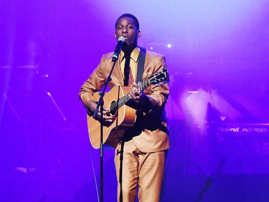 Leon Bridges plays at the Fillmore Detroit on Friday.
