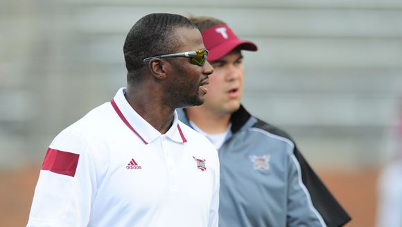Al Pogue is a fourth-year Troy assistant, but he's