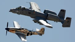 The A-10 (top plane) is central to Tucson's Davis Monthan