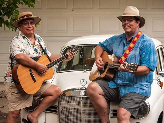 Feral Tortie, the duo made up of Clinton Kane (left) and Greg Lawson, will perform at the 50th Anniversary Summer of Love Community Benefit Concert.