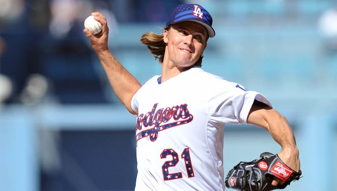 Zack Greinke leads the majors with a 1.39 ERA,
