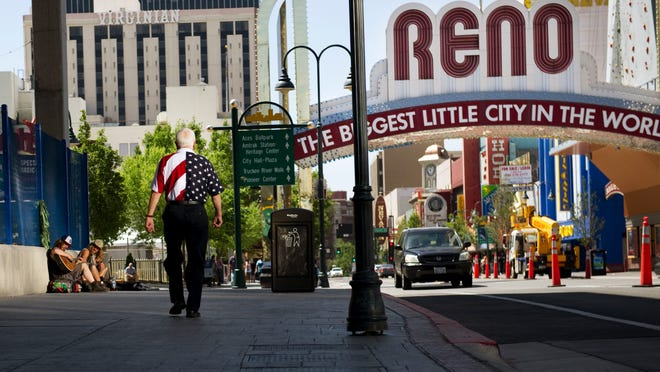 The Arch District in Reno, Nev.