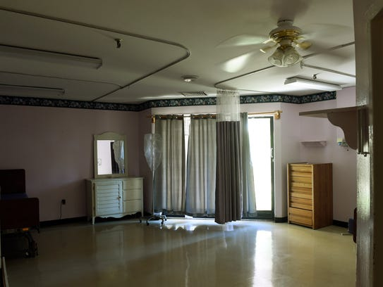 An empty patient room where Department of Intellectual