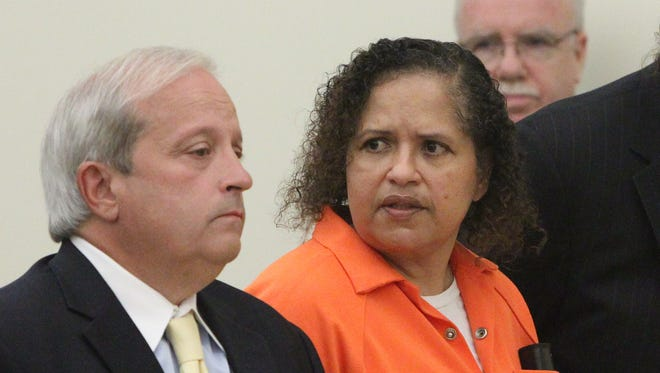 Diana Nadell at her sentencing for her mother-in-law's murder