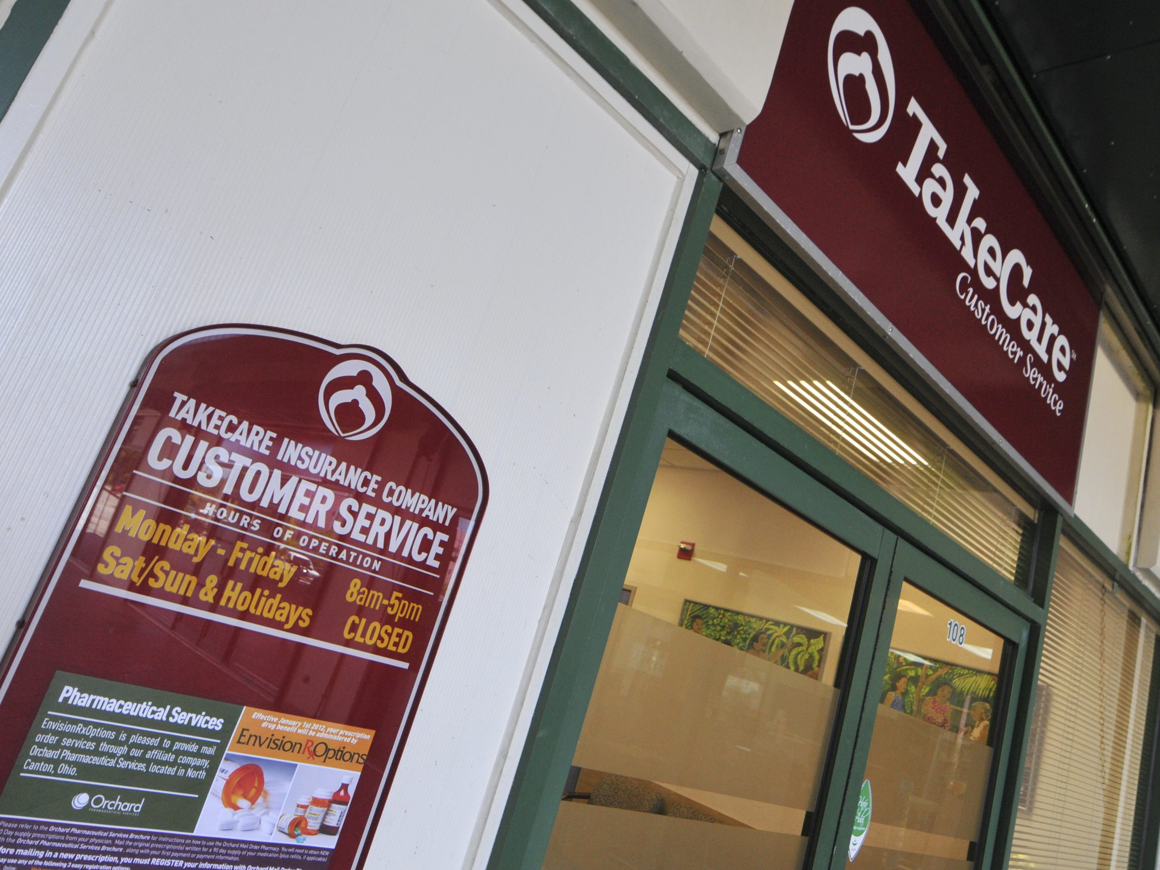 The TakeCare Customer Service office at the Baltej