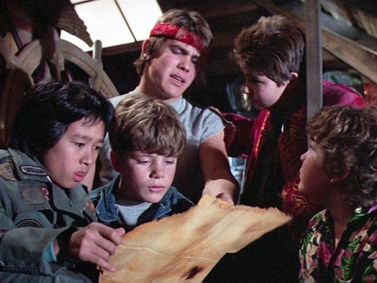"""As part of its Movies Made in Oregon film series, the Salem Public Library is showing 1985 coming-of-age classic """"The Goonies,"""" about a group of misfit kids 2:30 p.m. Saturday, June 25."""