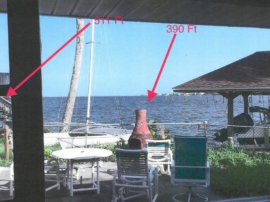 Steve Borowski says a proposed 511-foot dock and boat