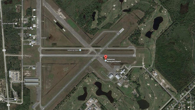 A small plane reportedly crashed at Sebastian Municipal Airport Saturday morning. No injuries were reported.