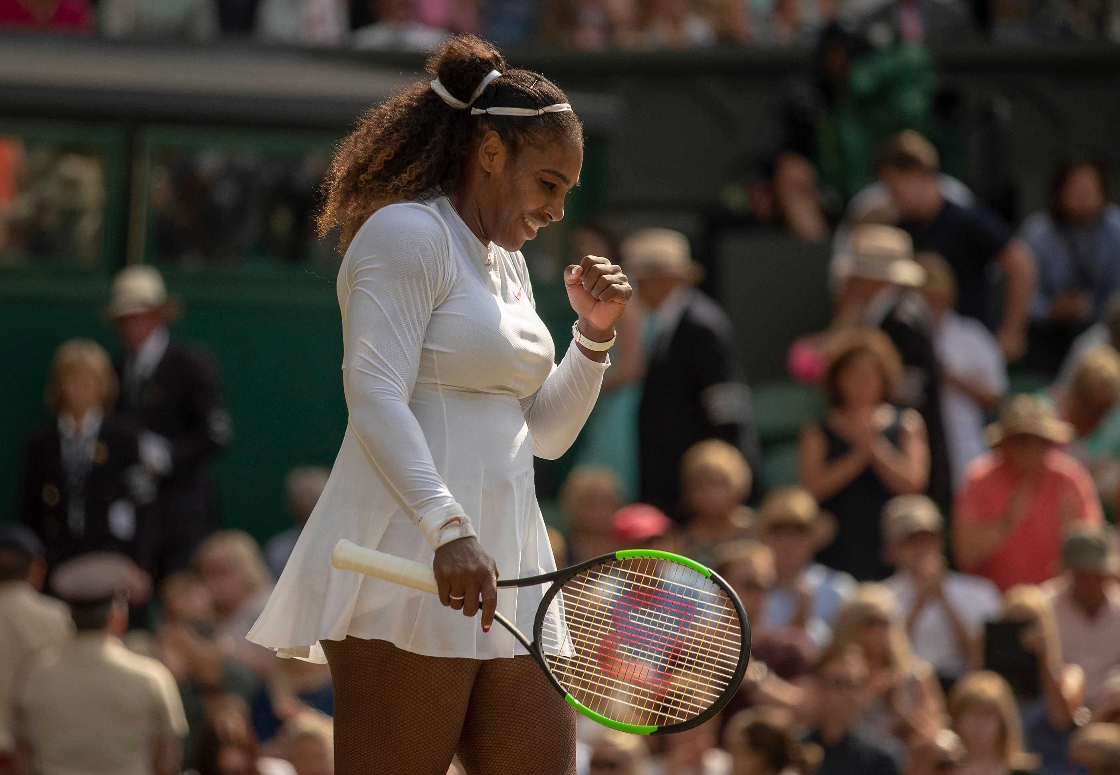 Serena williams vann wimbledon