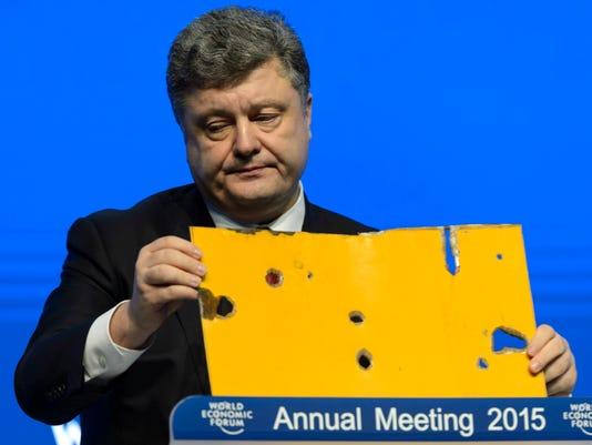 EPA EPASELECT SWITZERLAND WEF 2015 DAVOS EBF MACRO ECONOMICS SWI
