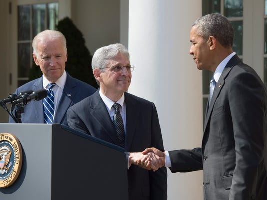 US President Barack Obama announces his nominee to the United States Supreme Court