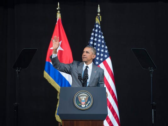 EPA CUBA USA OBAMA TRIP POL DIPLOMACY CUB --
