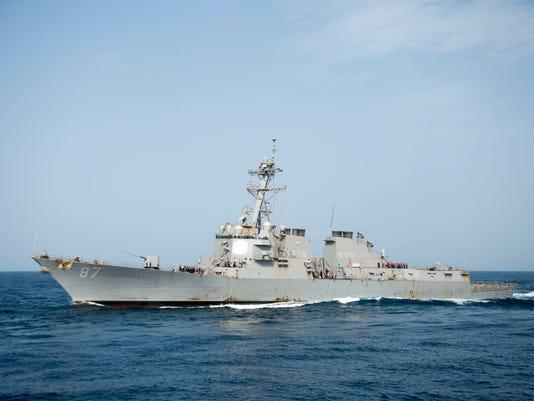 EPA AT SEA YEMEN US CONFLICT WAR DEFENCE ARMED CONFLICT ---