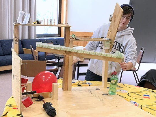 Corning Community College engineering student Serina