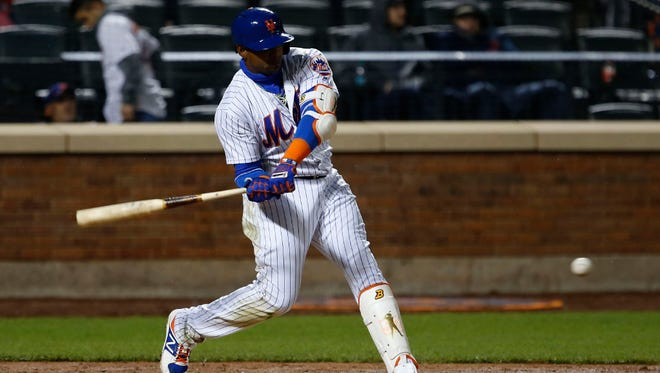 Yoenis Cespedes is out for at least two or three days because of a hamstring injury. It's just one of many injuries that have struck the Mets within a stretch of three days.