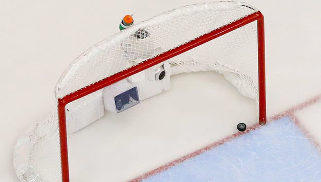 Hockey net.