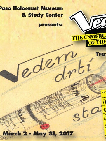 """A traveling exhibit, """"Vedem,"""" will open March 2 at"""