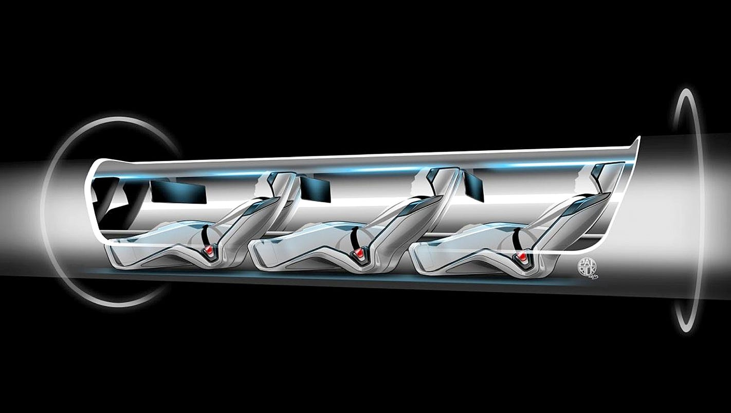 Image result for elon musk hyperloop la