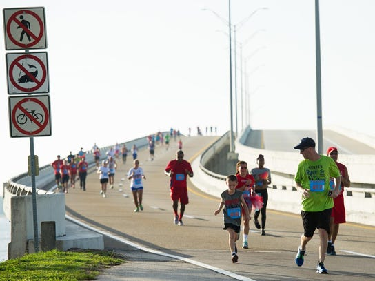 The morning 5K has become a popular summer racing event,