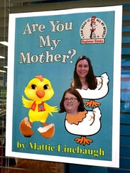Baby chicks are hatching at the Linebaugh Public Library