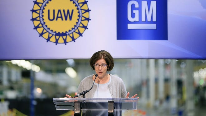 General Motors North America Vice President of Manufacturing and Labor Relations Cathy Clegg will open GM's talks with the UAW on July 13.