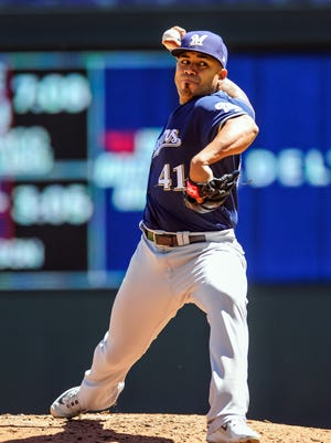 The Brewers'  Junior Guerra has helped hold down the fort recently as many other pitchers in the starting rotation have struggled with injuries and inconsistency.