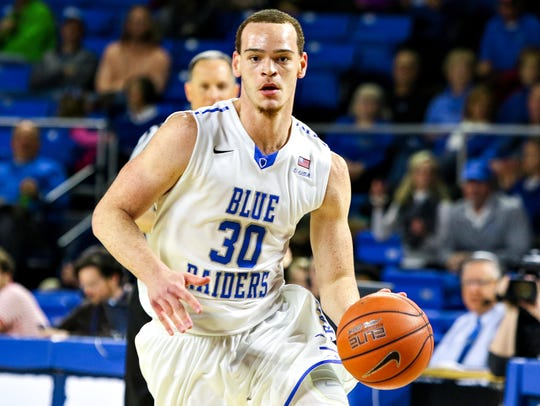 Reggie Upshaw and the Blue Raiders will fe featured