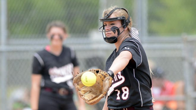 Pitcher Chelsey Fomby and the Elmore County softball team are 32-4 this season.