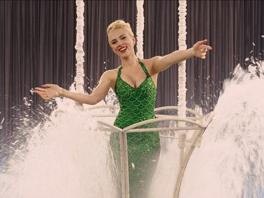 "Scarlett Johansson is actress DeeAnna Moran in ""Hail, Caesar!"""
