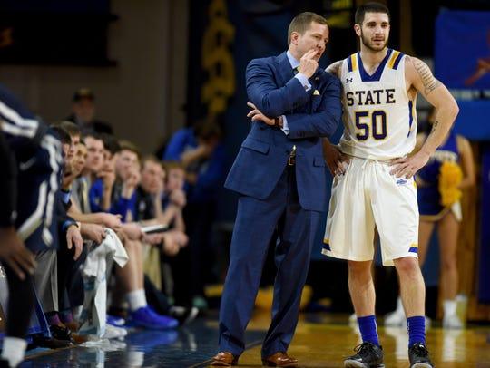 SDSU head men's basketball coach T.J. Otzelberger talks