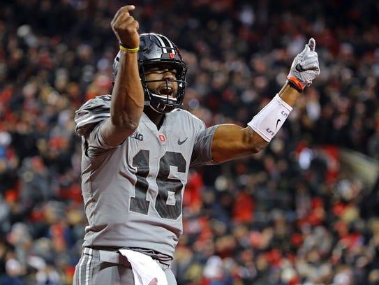 Ohio State quarterback J.T. Barrett led a big win for the Buckeyes last week against Penn State.