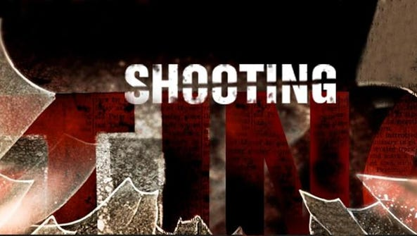 A parking lot attendant has been shot by his girlfriend, according to authorities.