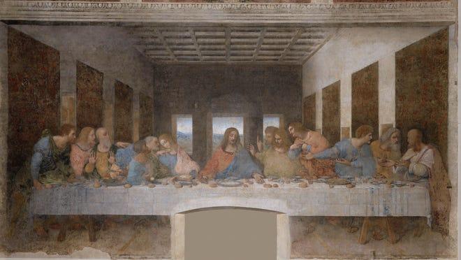 Última Cena by Leonardo da Vinci in the Convent of Santa Maria delle Grazie, Milan