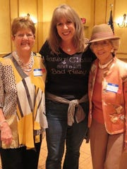 Gina Cassidy and Pat Foster from the Sedona Welcomers.