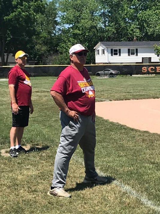 Scecina head coach Dave Gandolph