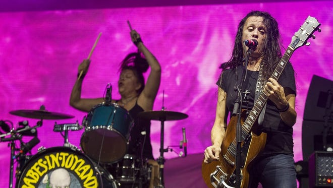 Lori Barbero, left, and Kat Bjelland will perform with Babes in Toyland on Jan. 27 at the Hi-Fi.