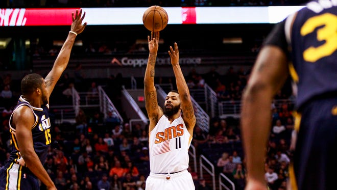 Suns forward Markieff Morris has averaged 21.0 points, 7.5 rebounds and 4.8 assists in four games since Earl Watson took over as interim coach.