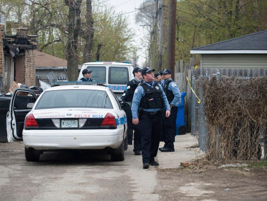 AP Chicago Violence Juveniles