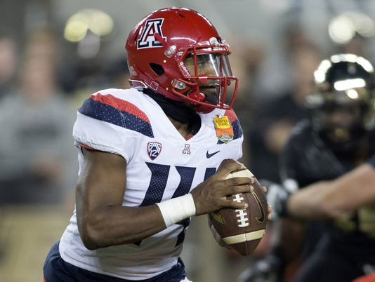 NCAA Football: Foster Farms Bowl-Arizona vs Purdue