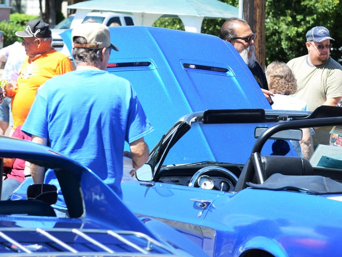 Image from the Yerington Classic Car Show on June 21 at Pioneer Crossing Casino in Yerington.