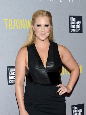 Amy Schumer at the world premiere of 'Trainwreck' on July 14.