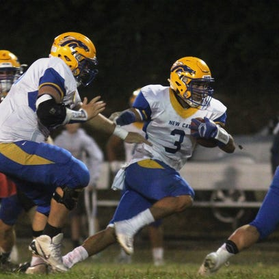 NewCath running back Jake Smith has been a workhorse