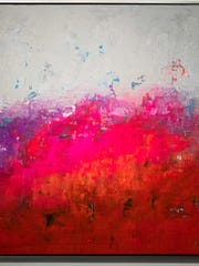 """""""Energise II"""" by featured artist, Ed Nash, on view"""
