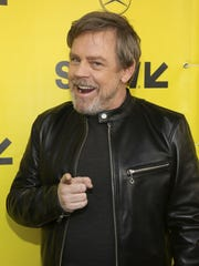 Mark Hamill arrives for the world premiere of 'The