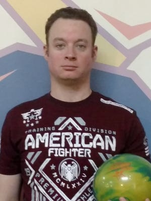 Scott Hill bowled an 800 series and a 300 game on the same day.