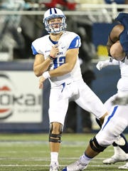 Quarterback Brent Stockstill is on pace to shatter